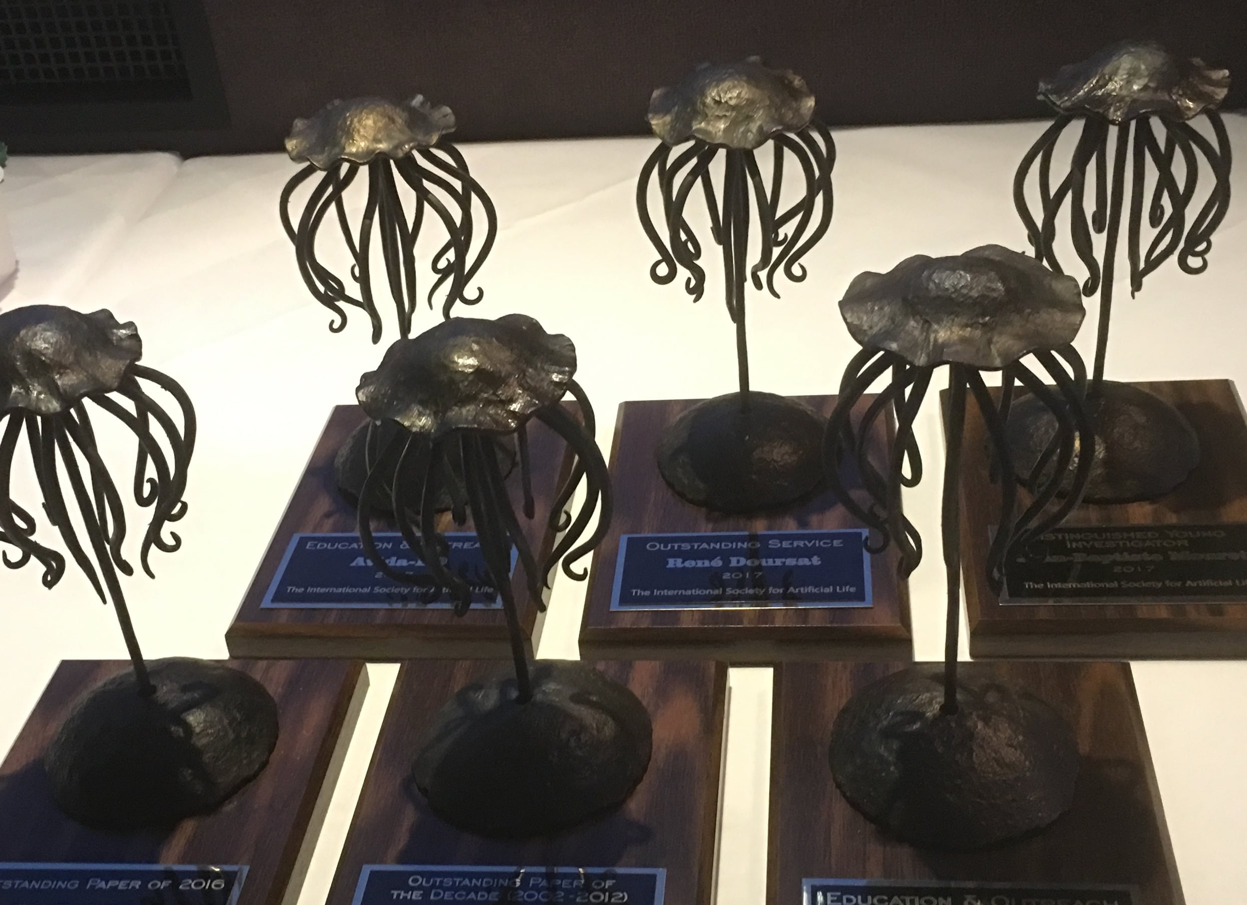 ISAL Awards 2017 Trophies by Cliff Bohm